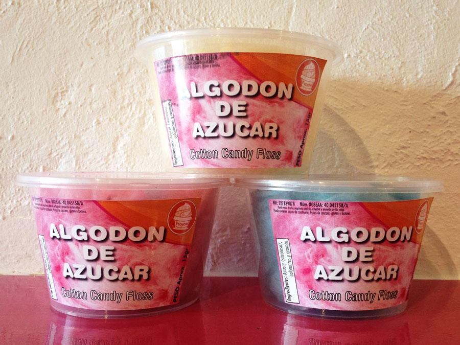 Cubos con Tapas para Algodón y Palomitas