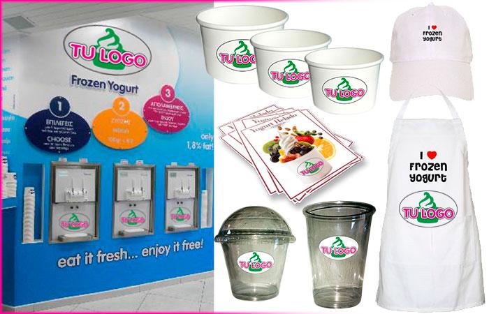 Tu Logo Tu Marca Tarrinas Yogurt Helado