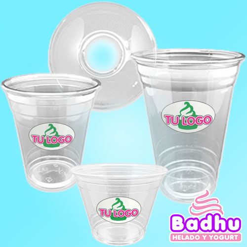 Vasos PET + Cupulas