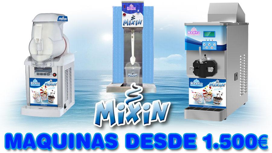 maquinas helado Badhu Sundae & Mixin